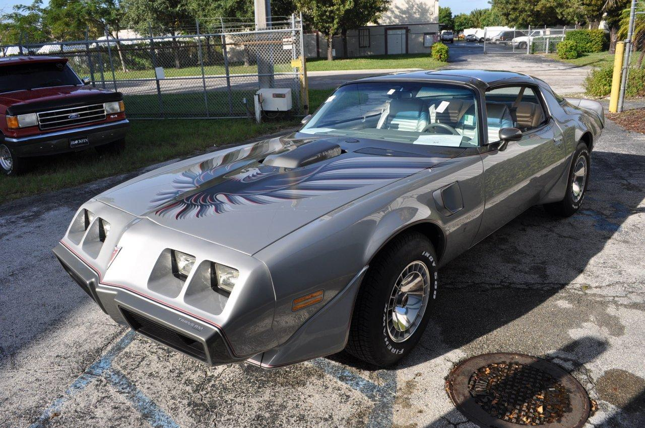 Trans Am 79 10th Anniversary 4 Speed